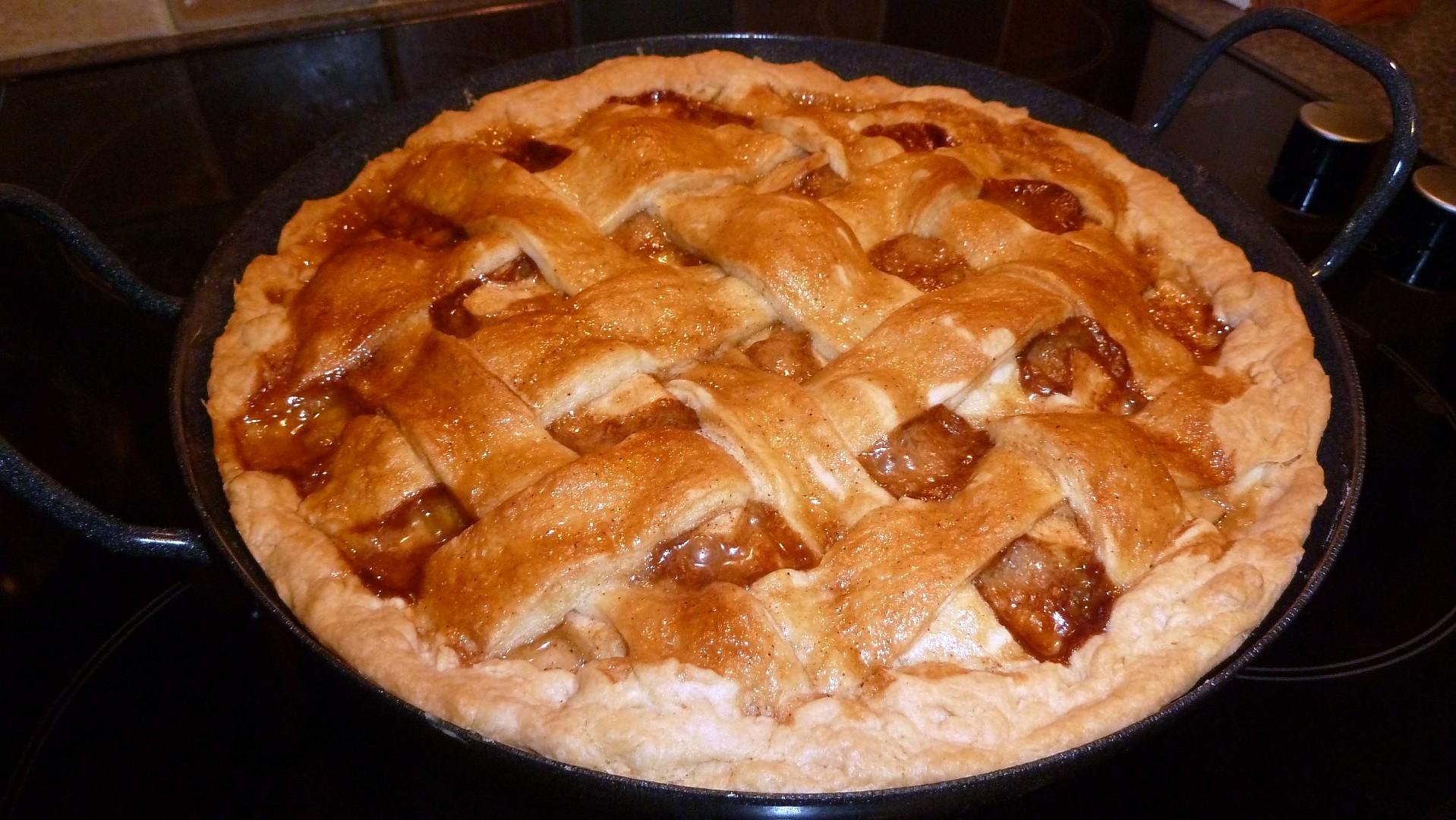 Apple pie aneb jablkový koláč