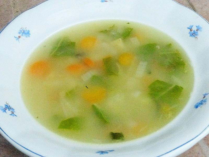Babiččina letní sekyrková polévka