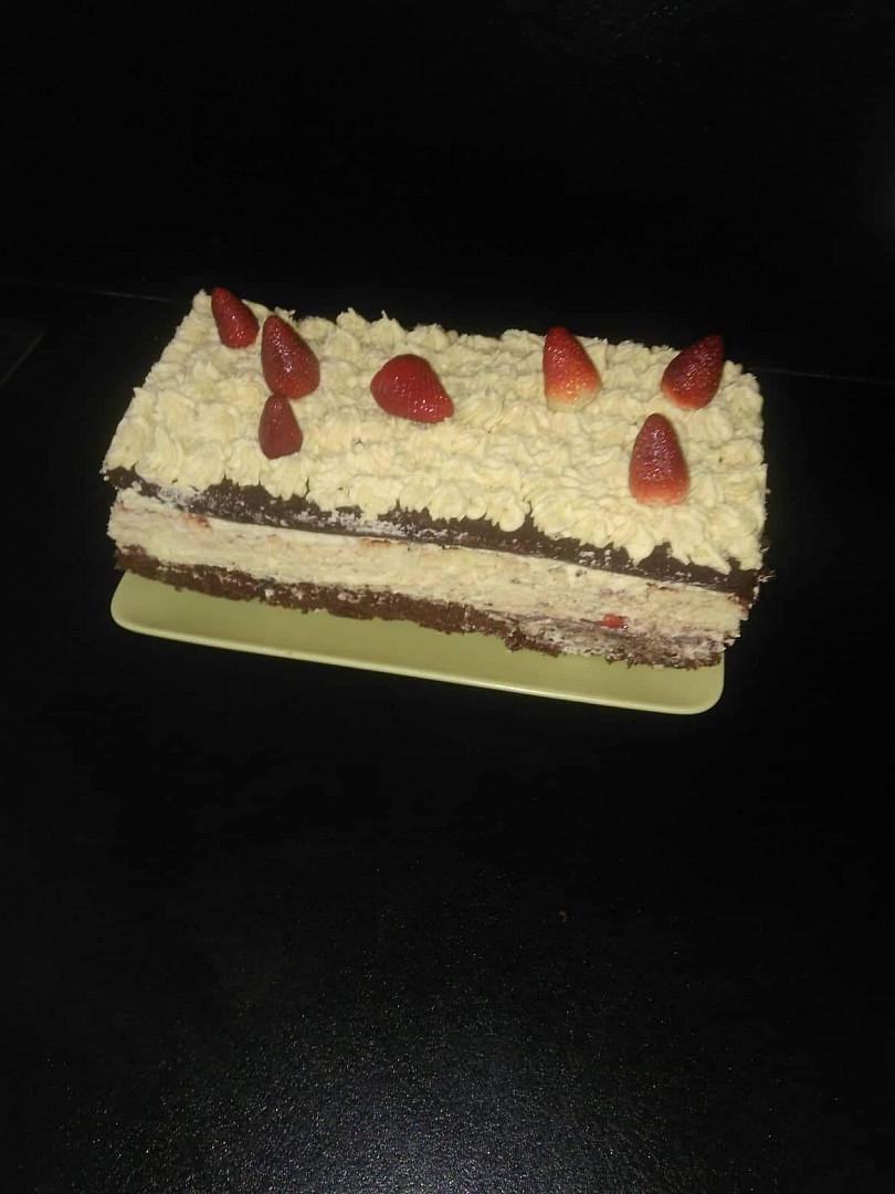 Báječný karamelový dort