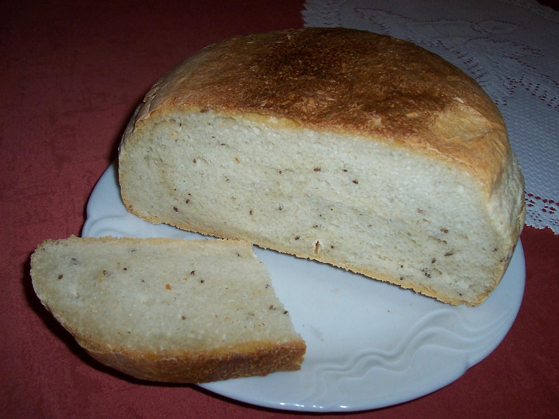 Bílý chléb - můj první z domácí pekárny