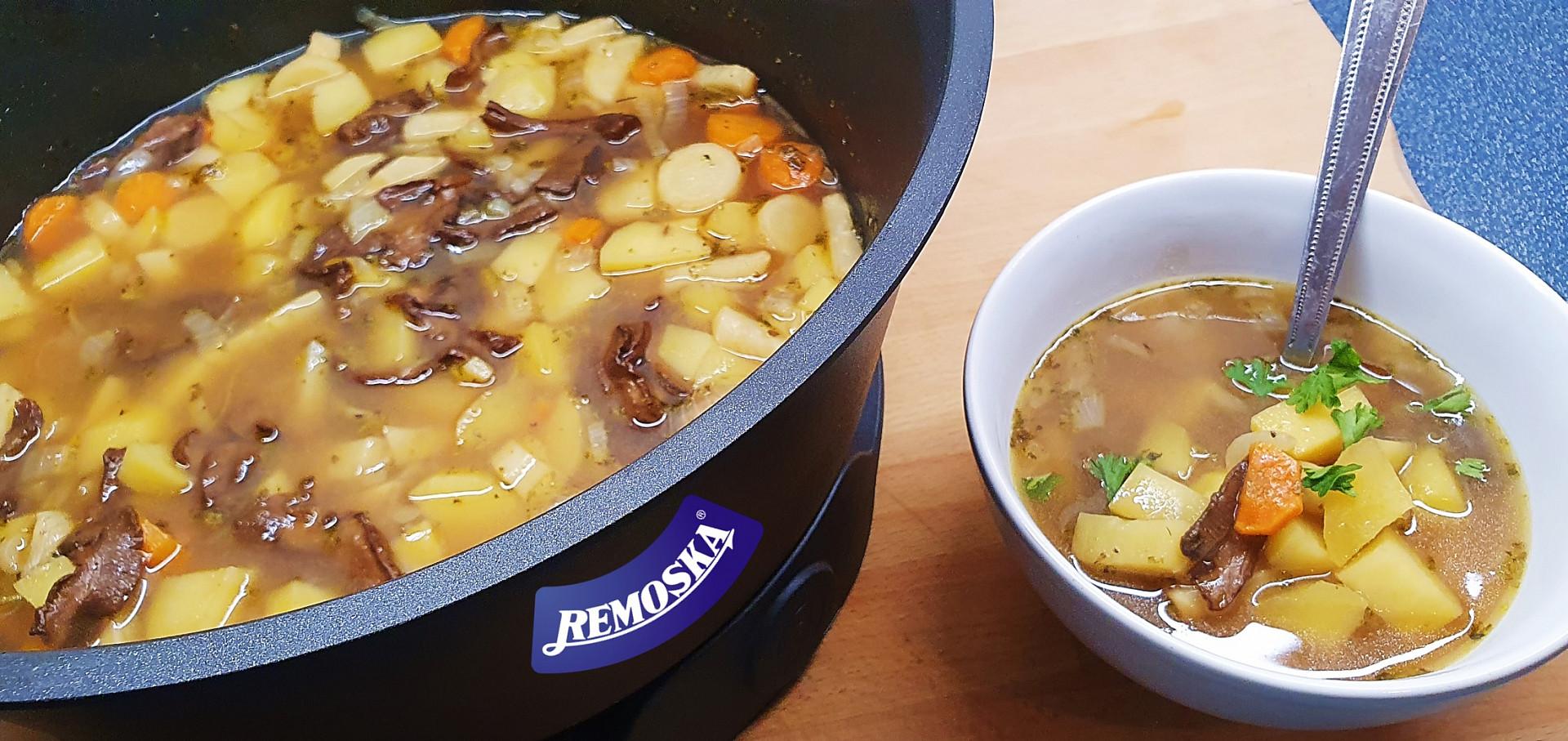 Česká bramboračka z remosky