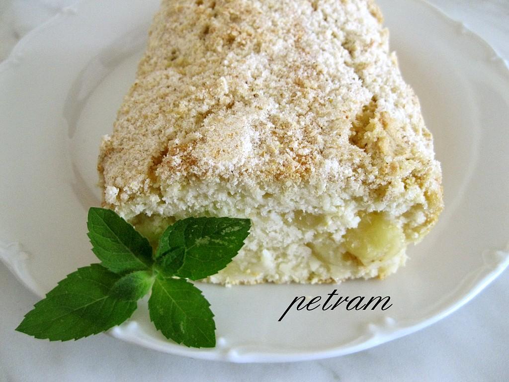 Chlebíček 'Piňa Colada' bez lepku, mléka a vajec
