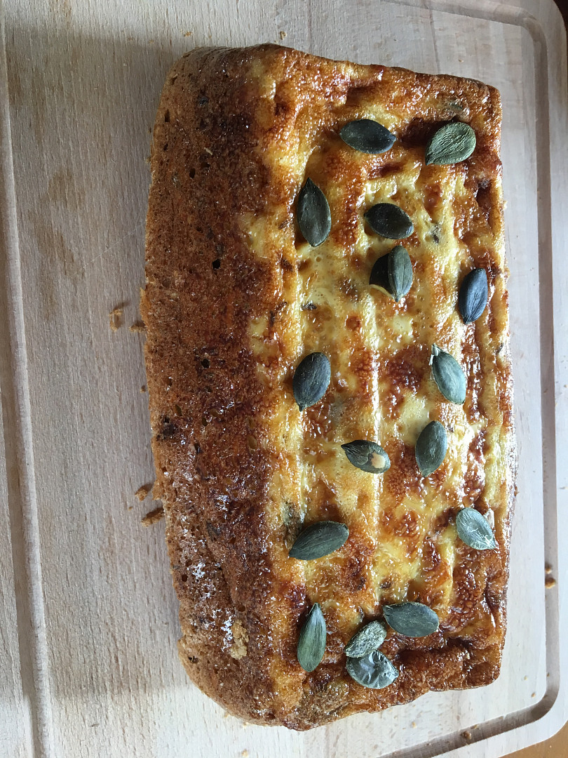 Cibulový chleba bez mouky - keto, lowcarb, cukrfree