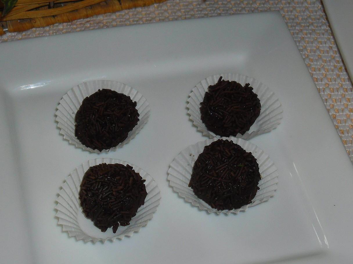 Čokoládové kuličky z Brazílie