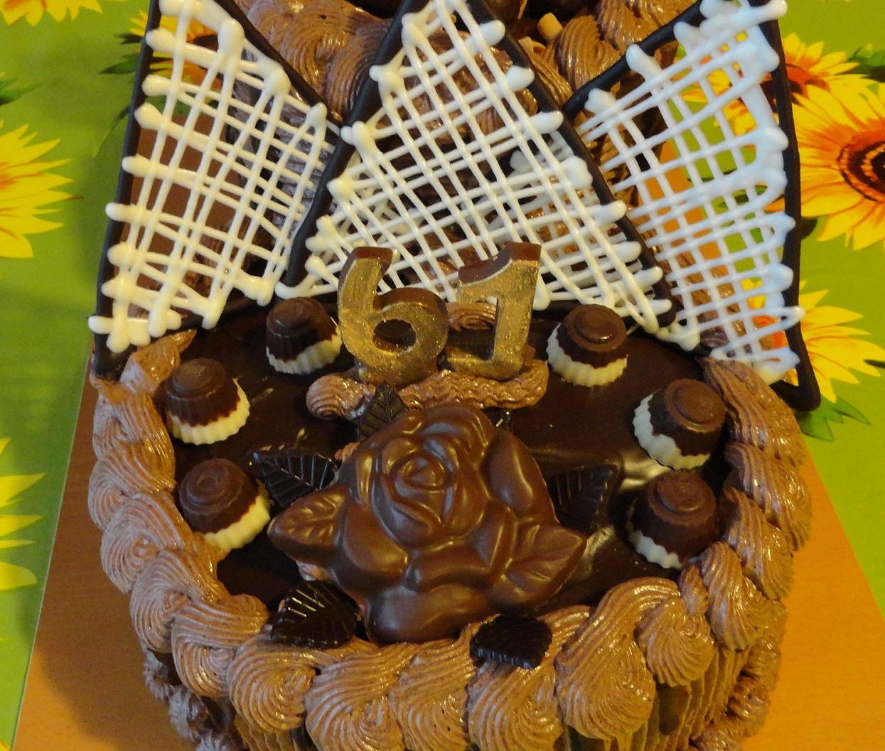 Čokoládové zdobení