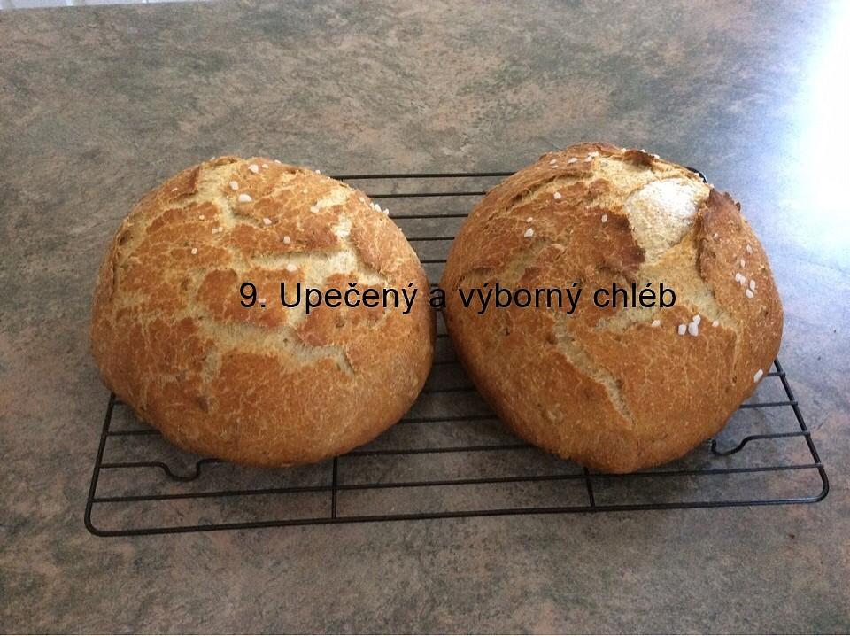 Domácí chleba bez hnětení