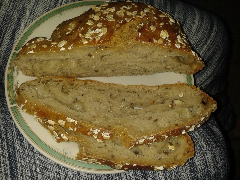 Domácí chleba z trouby:)