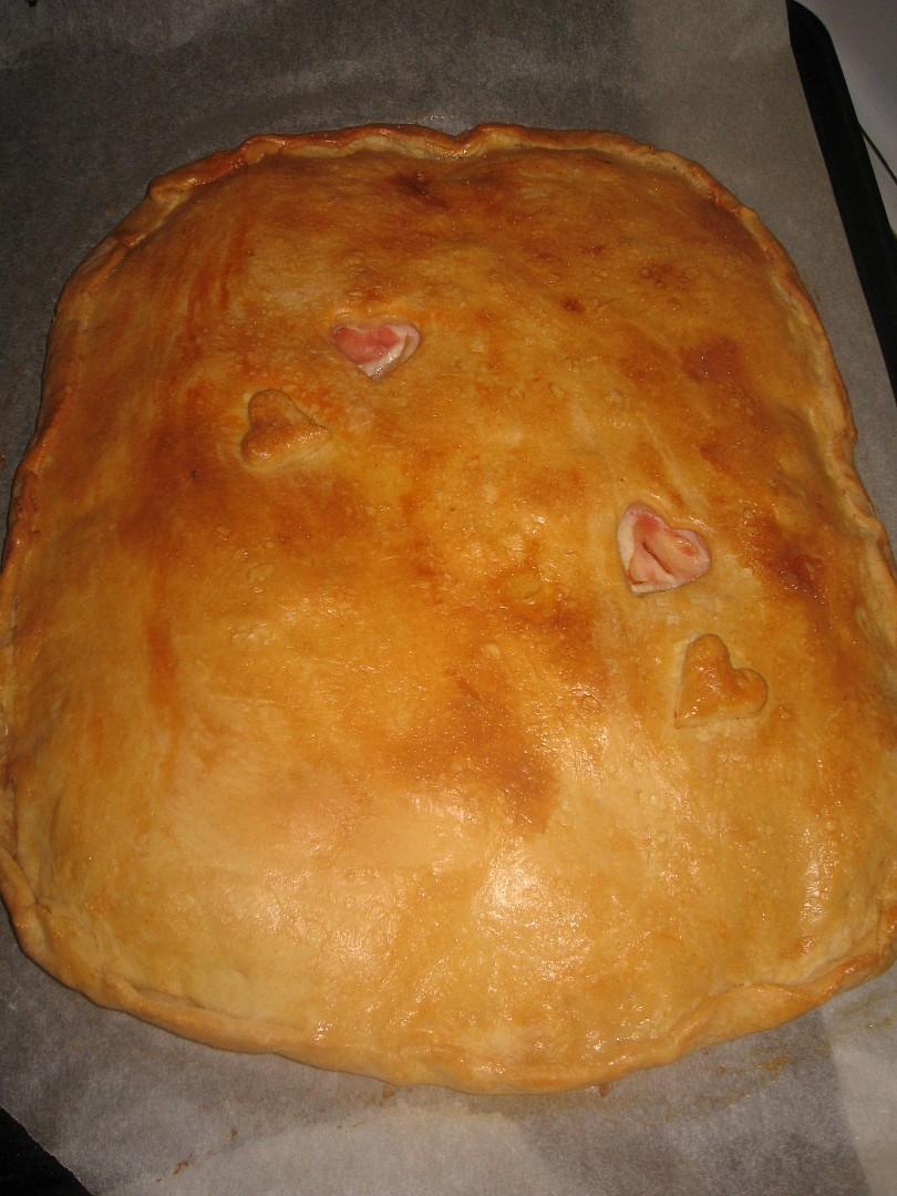 Empanada Gallega (plněný koláč)