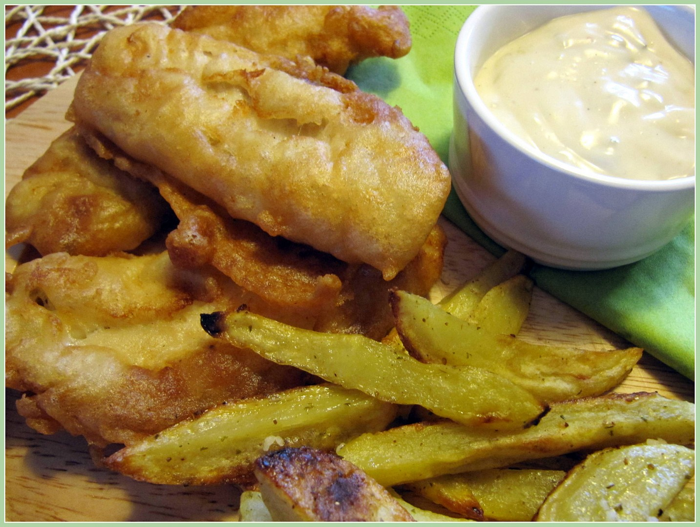 Fish and Chips podle Dity P.