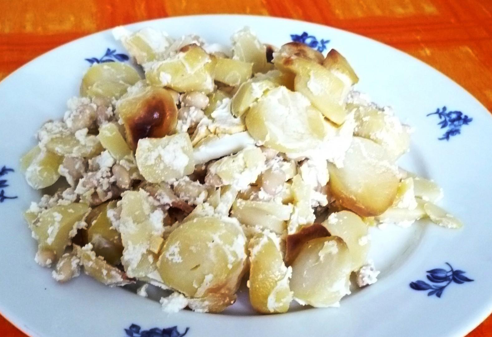 Francouzské brambory se sójou