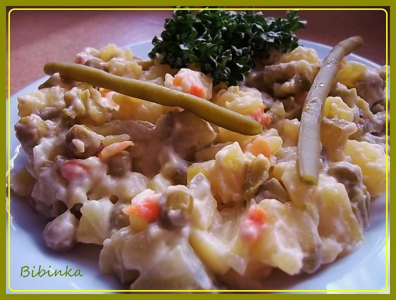 Francouzský bramborový salát (vítěz ČR 2010)