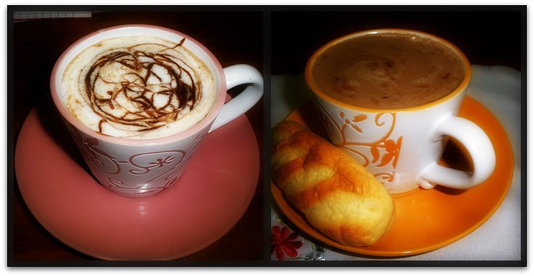 Horká čokoláda s kávou;♥