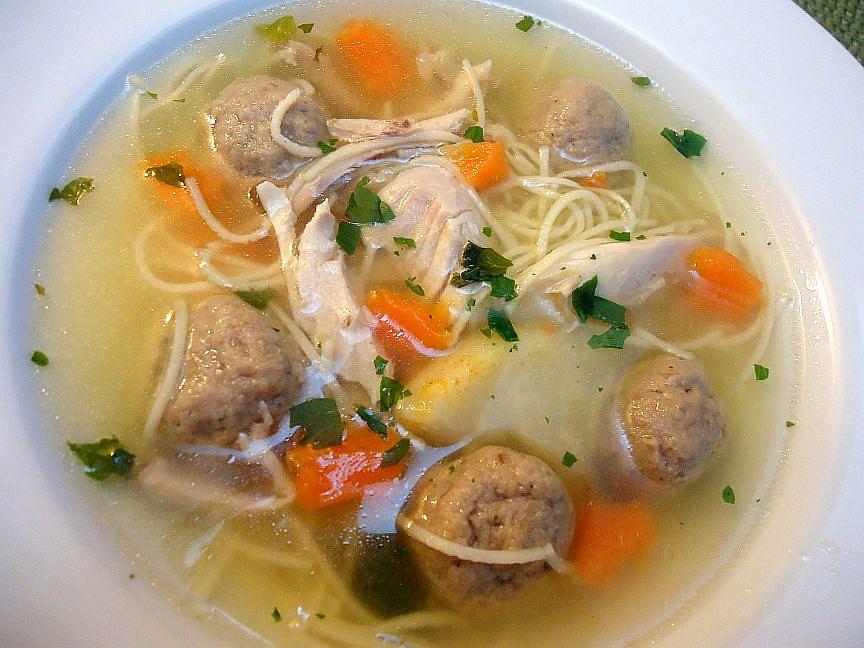 Játrové knedlíčky do kuřecí i jiné polévky