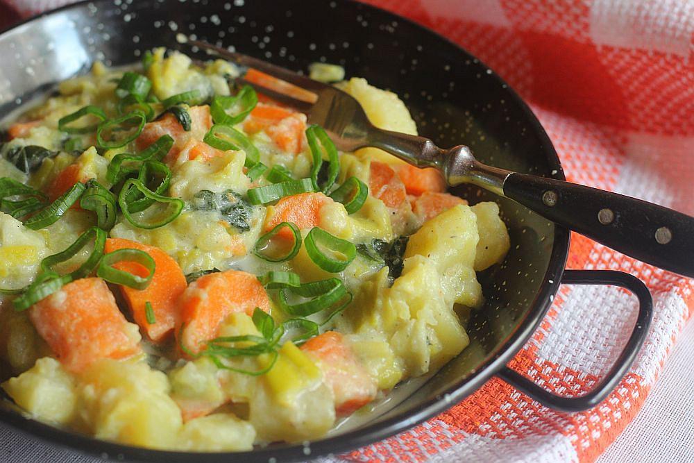 Jednoduchý zeleninový rendlík