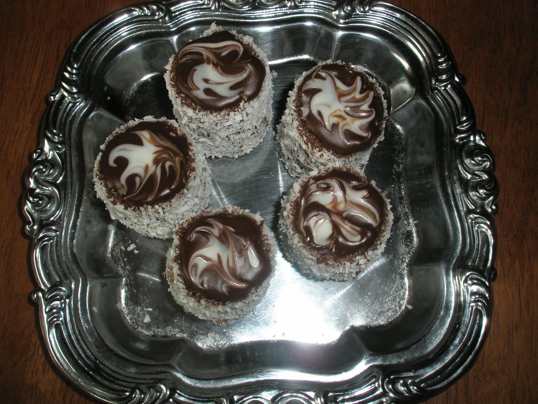 Kokosové věžičky/ Macešky