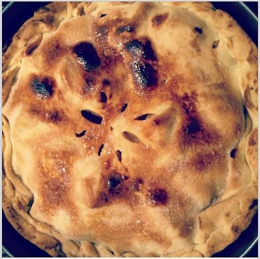 Kořeněný jablečný koláč (Apple Pie)