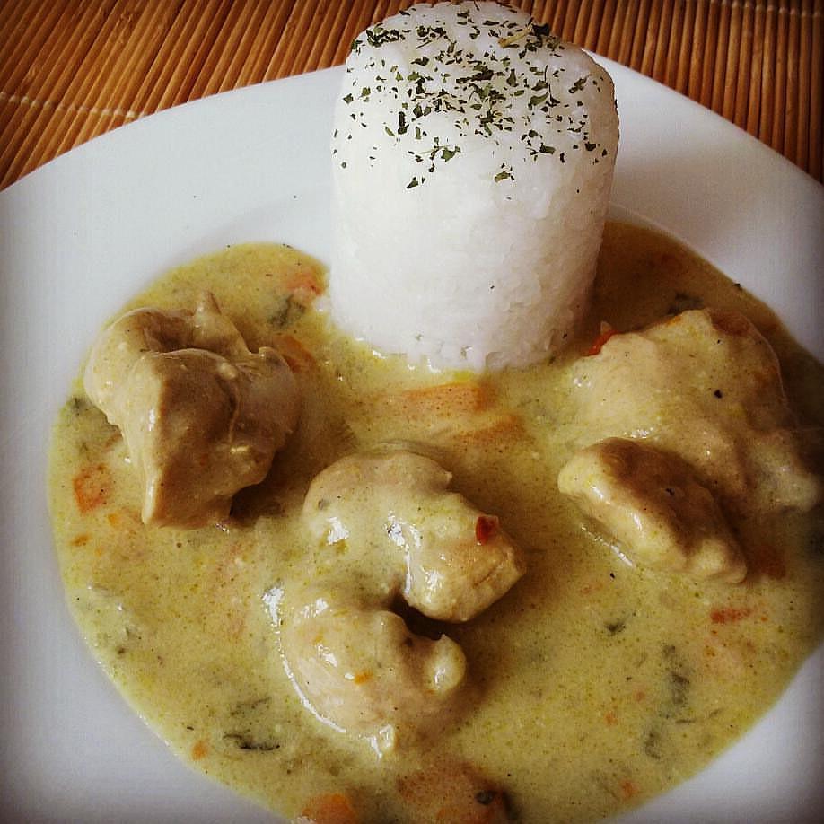 Krůtí kousky na curry a zelenině