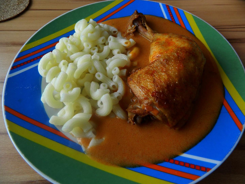 Kuře na sladké paprice