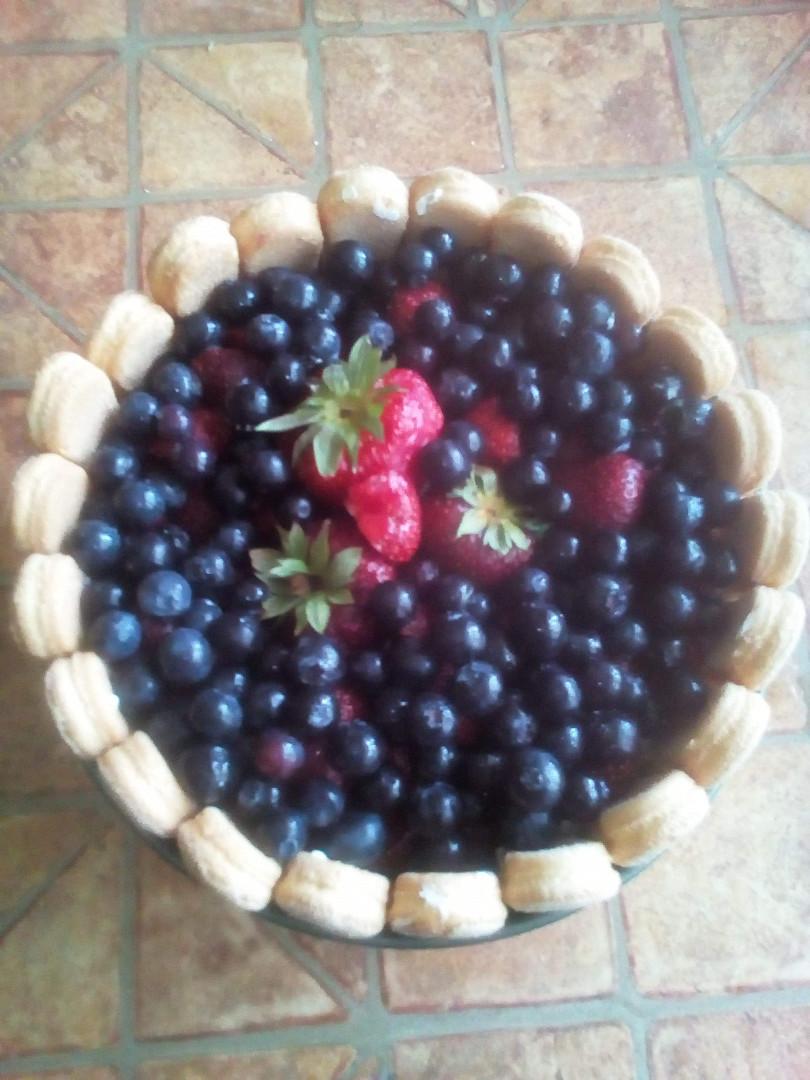 Letní osvěžující dortík