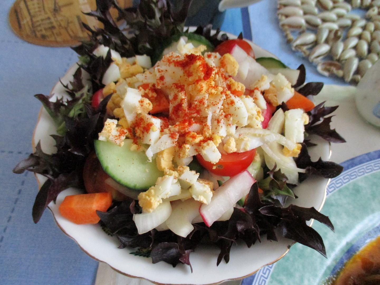 Míchaný salát s rukolou (Arugola)
