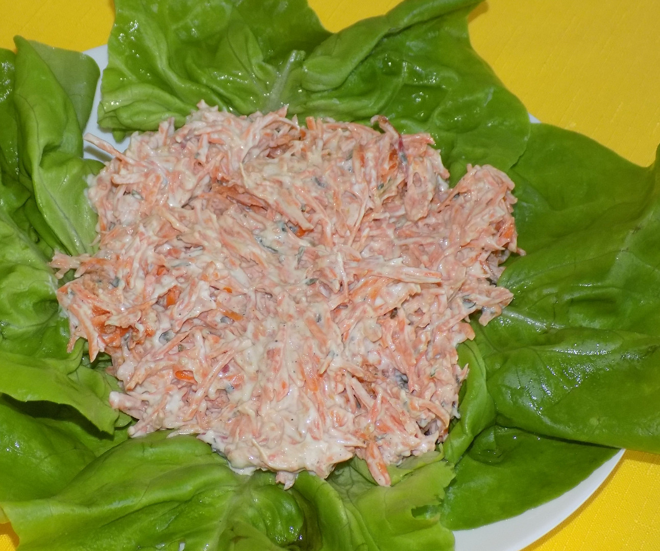 Mrkvový salát - švýcarský