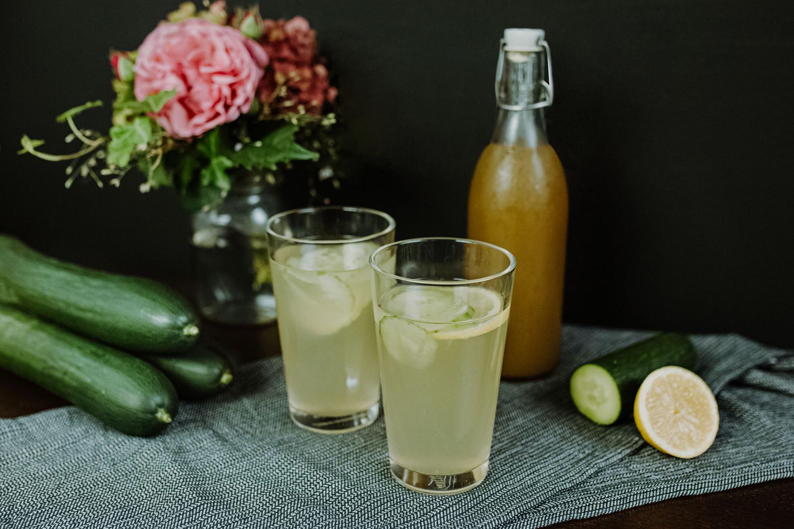 Okurková Bezdínkovská limonáda