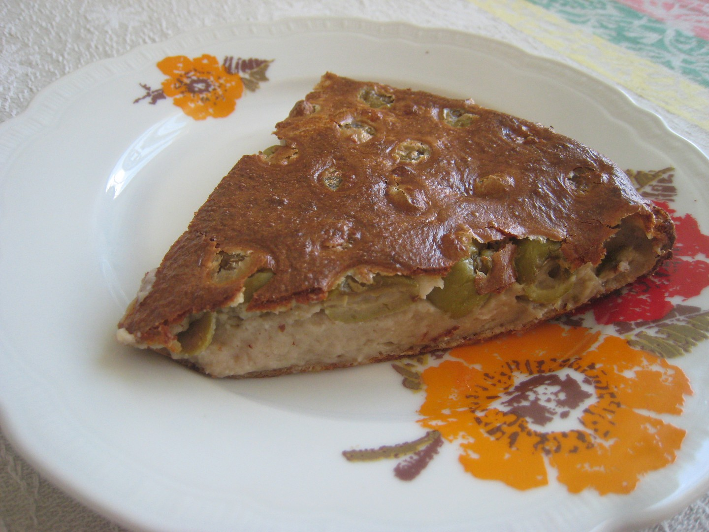 Olivový koláč