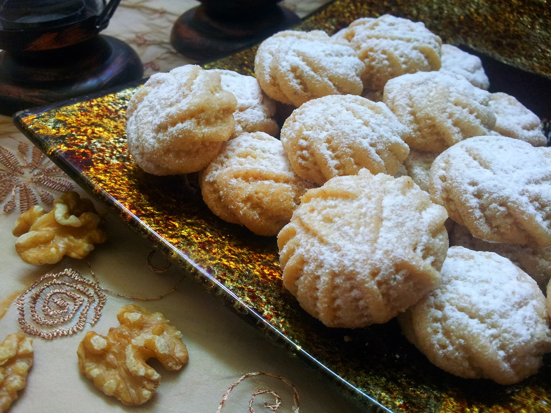 Ořechové koláčky (cukroví)