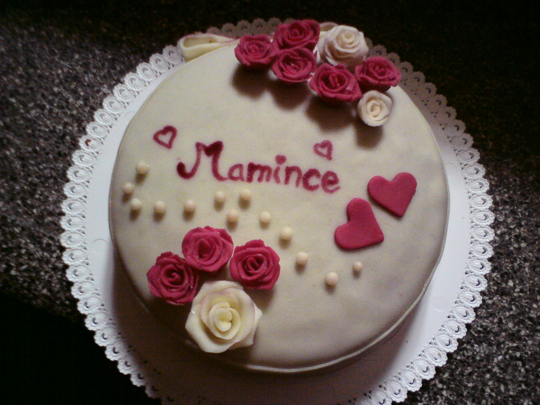 Ořechový dort pro maminku