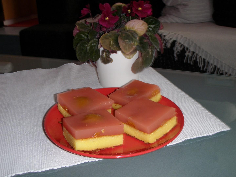 Osvěžující tvarohový koláč à la Mariolla