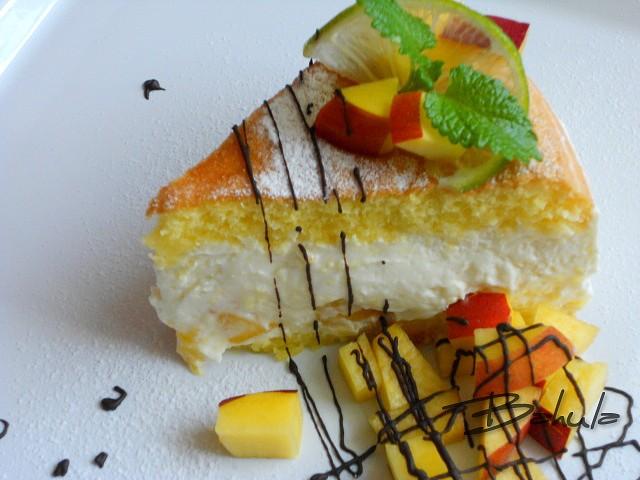 Ovocný dort s limetkou