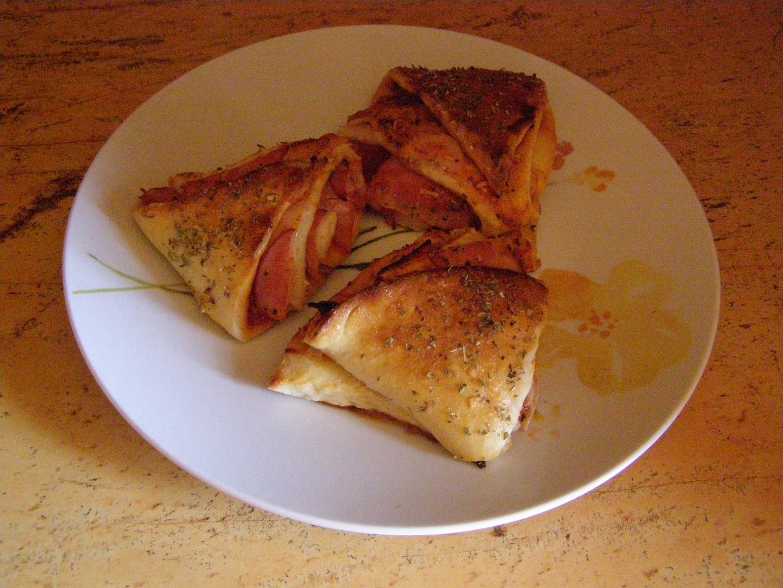 Pizza trojúhelníky