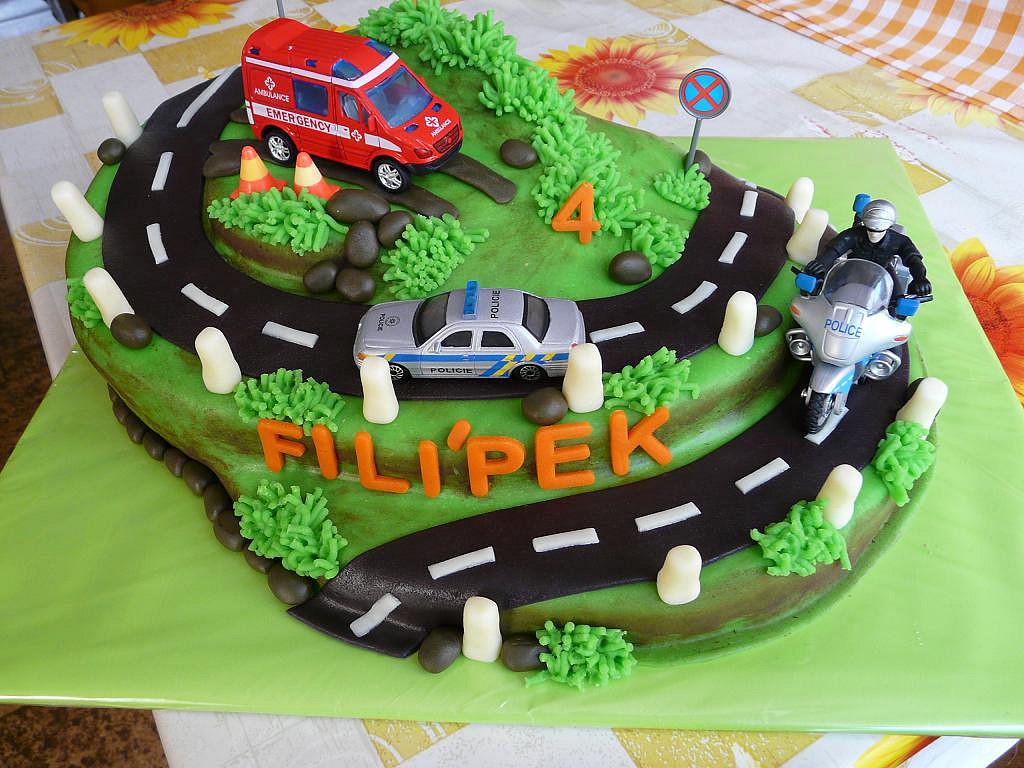 Policejní dort pro Filípka