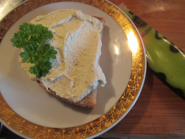 Pomazánka z tofu a wasabi