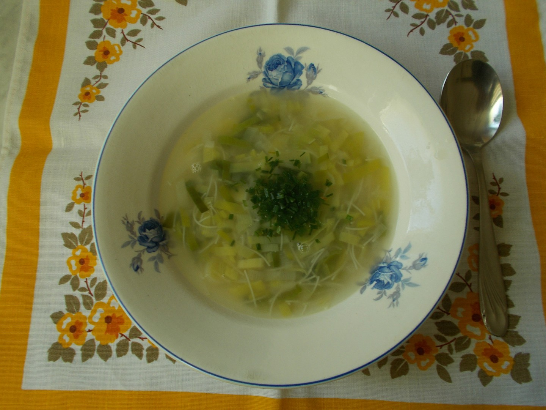 Pórková polévka nezahuštěná