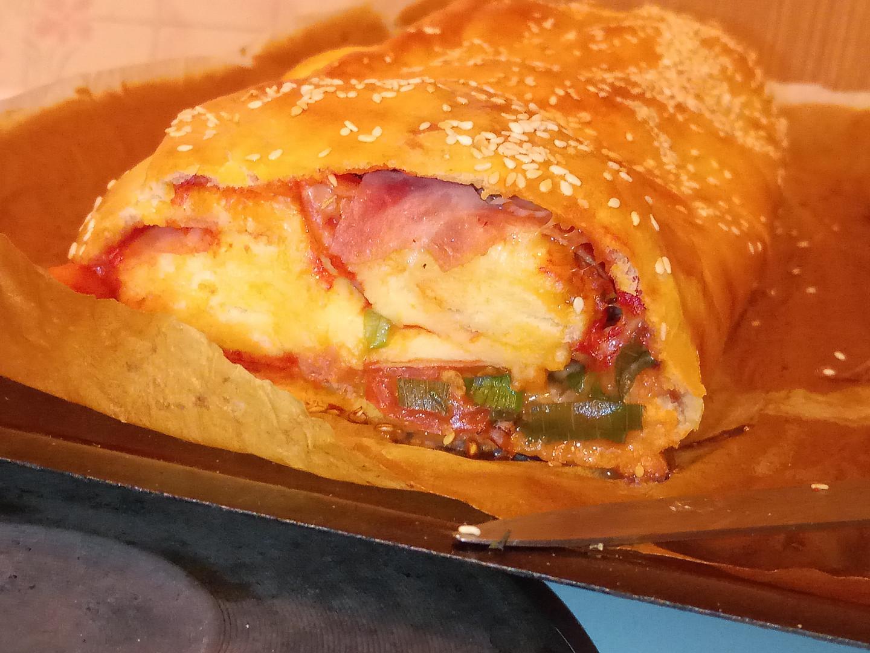 Rolovaná pizza