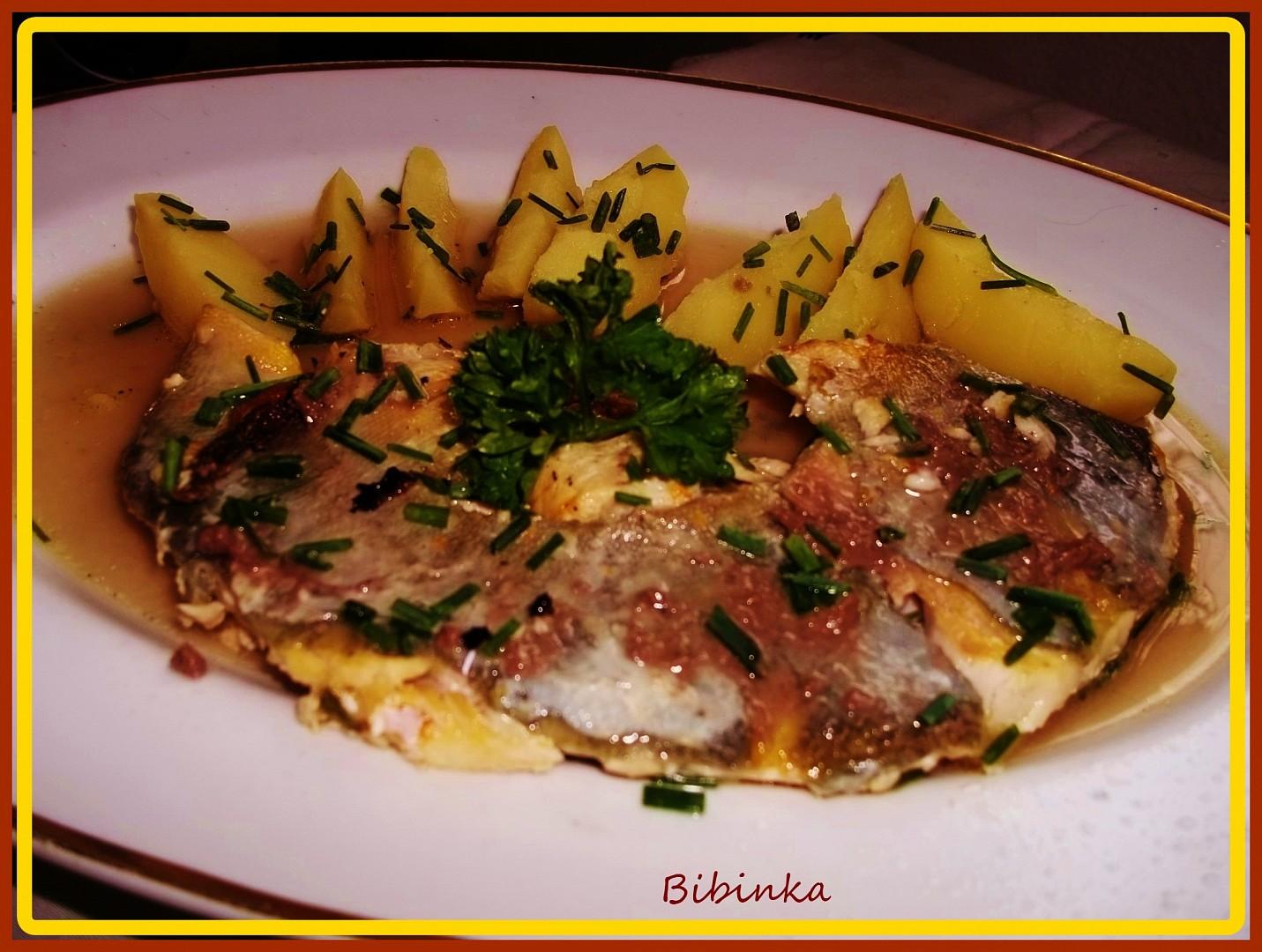 Rybí filety na sardeli