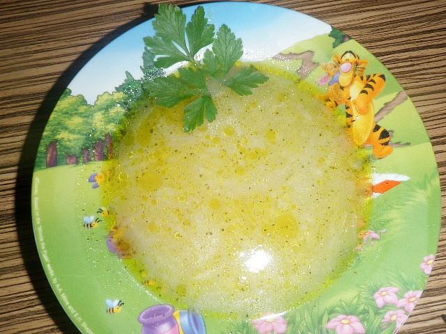 Rychlá kedlubnová polévka