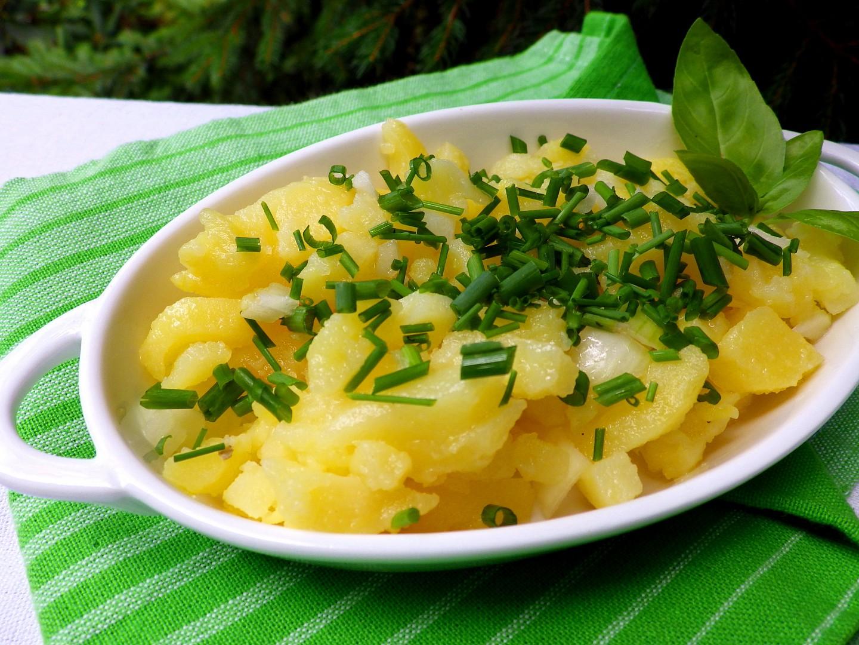 Rychlý a levný bramborový salát
