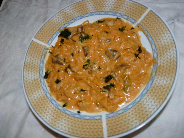 Segedinský guláš z masáků (růžovek)