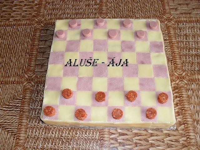 Slaný dort - dáma