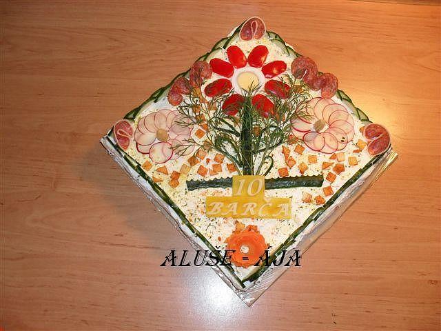 Slaný dort - pro Barušku