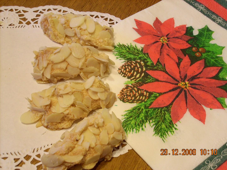 Sněhové šišky s karamelem