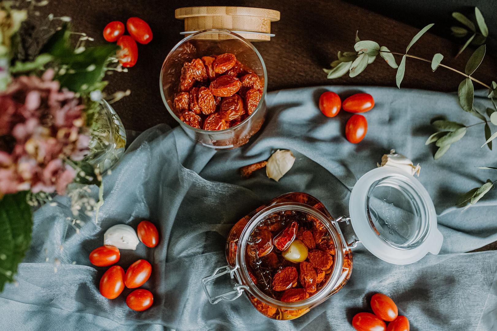Sušená Bezdínkovská rajčátka