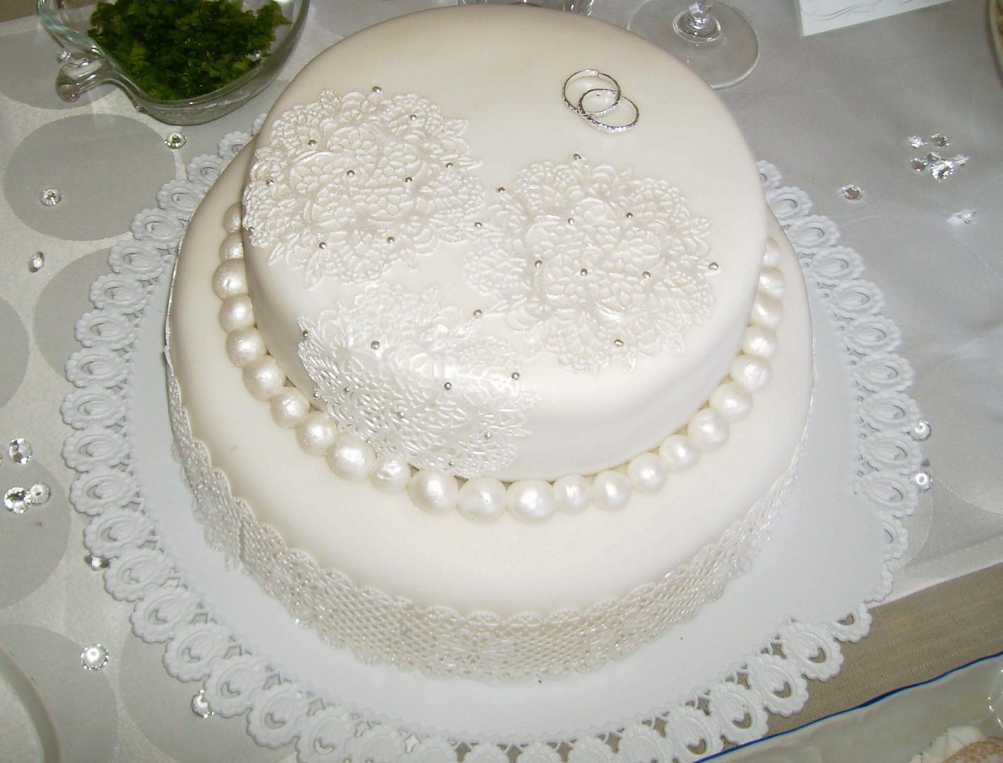 Svatební dort mojí vnučky