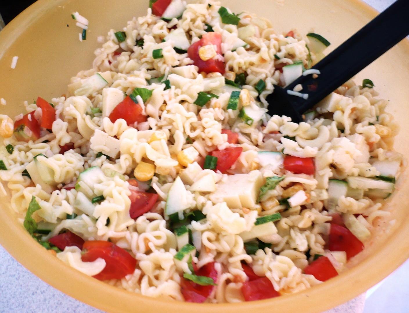 Těstovinový salát po mojemu