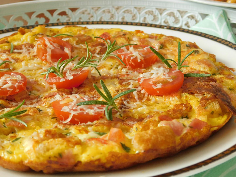 Toustová omeleta