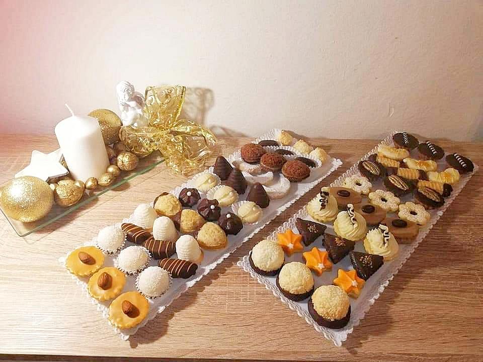 Tradiční vánoční cukroví