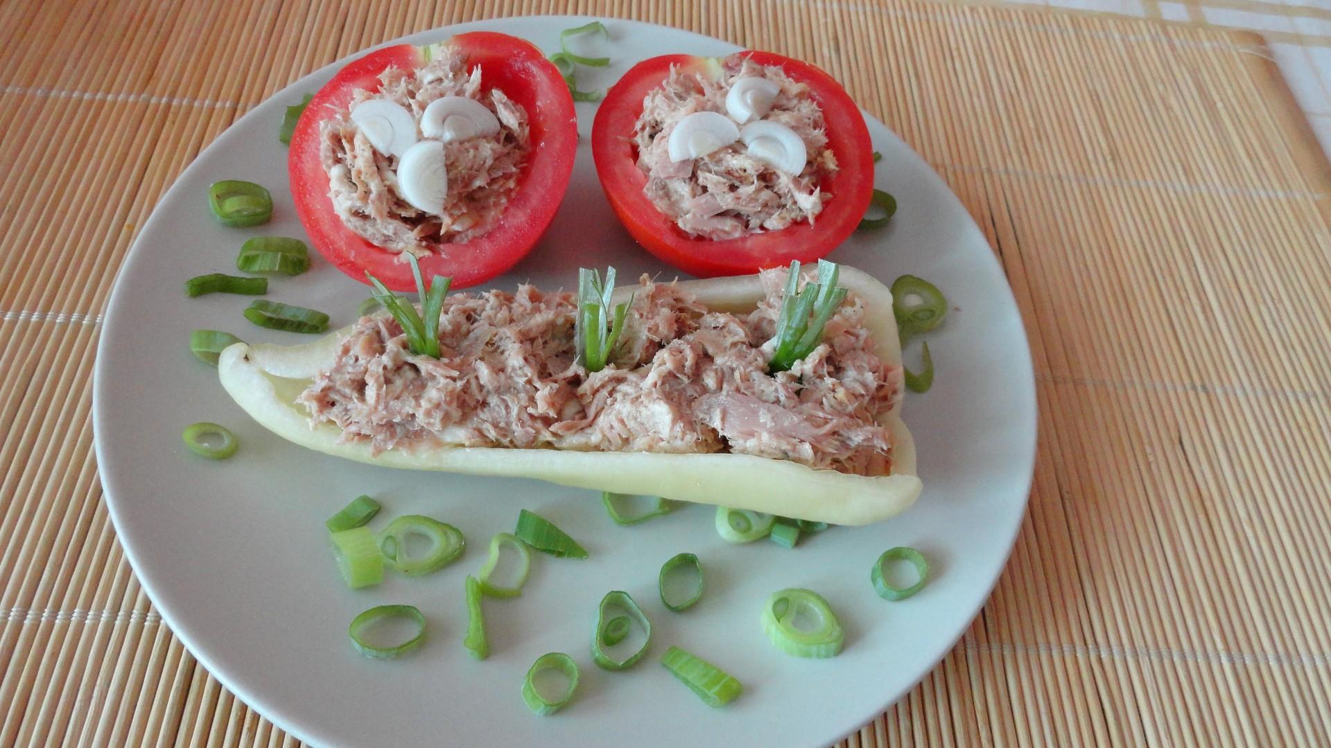 Tuňáková zelenina