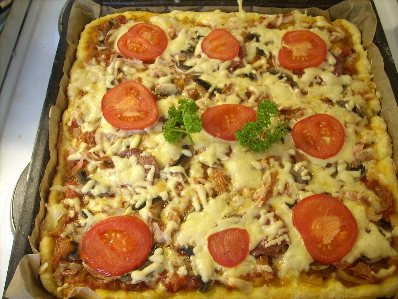 Tvarohová pizza
